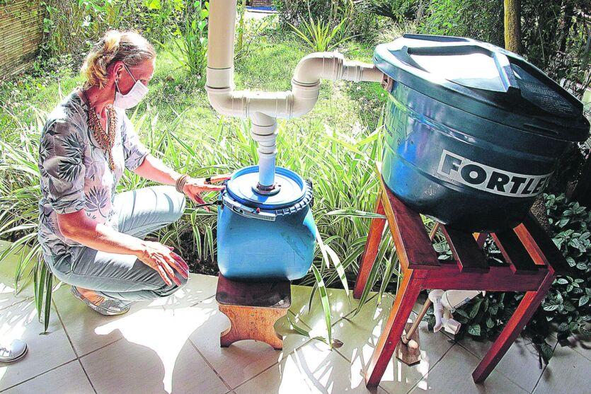 Ao todo, 80 pessoas são beneficiadas com o tratamento de água