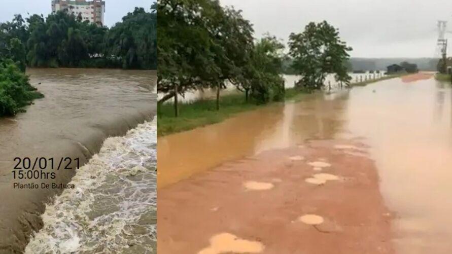 Imagem ilustrativa da notícia: Alagamentos e subida de nível de rio deixa moradores de Timbó em alerta