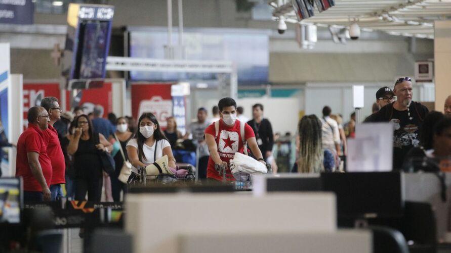 Imagem ilustrativa da notícia: Reino Unido proíbe entrada de viajantes do Brasil por causa de variante do coronavírus
