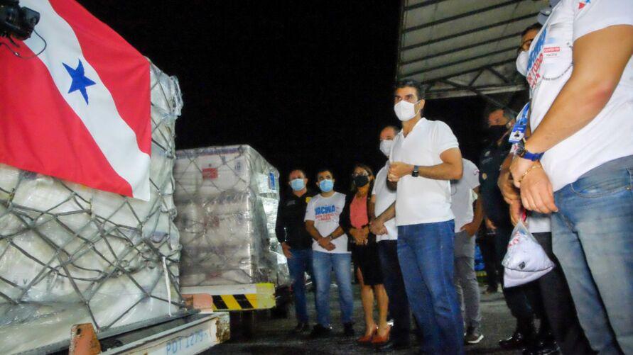 Imagem ilustrativa da notícia: Pará deve receber 1,5 milhão de doses de vacina até março, informa Helder Barbalho
