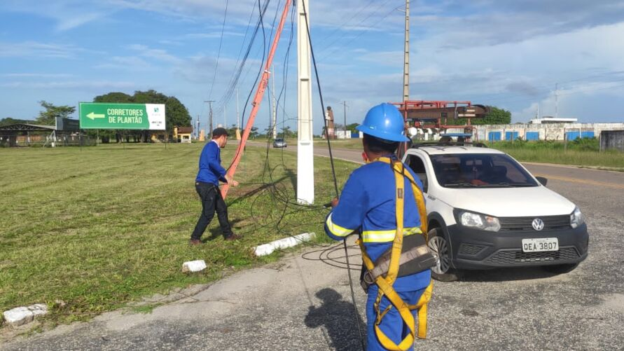 Imagem ilustrativa da notícia: Moradores de Bragança ficam sem internet após cabos serem furtados