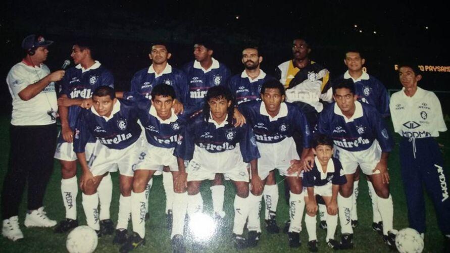 Rogério estava no time que goleou o Paysandu em 96