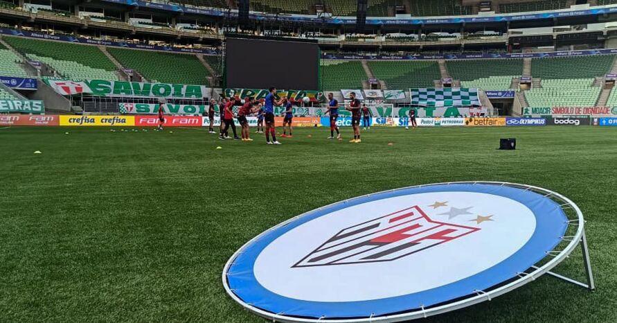 Imagem ilustrativa da notícia: Palmeiras empata com Atlético-GO dentro de casa. Veja os gols!