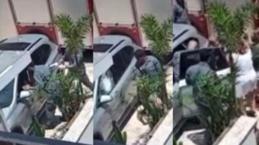 Imagem ilustrativa da notícia: Bebê que ficou trancada em carro blindado recebe alta do hospital
