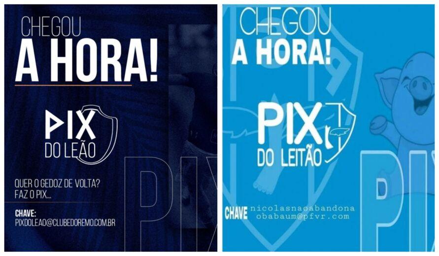Imagem ilustrativa da notícia: 'Rifa de leitão' no Paysandu viraliza após o 'PIX do Leão' e até CBF é envolvida no caso