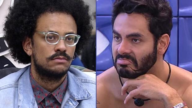 João Luiz e Rodolffo no BBB21