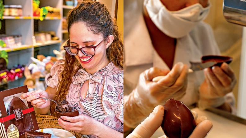 Imagem ilustrativa da notícia: Chocolastes para todos os gostos nesta Páscoa