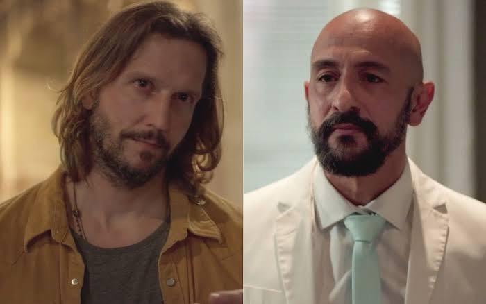 Personagens Davi e Álvaro terão mais um embate.