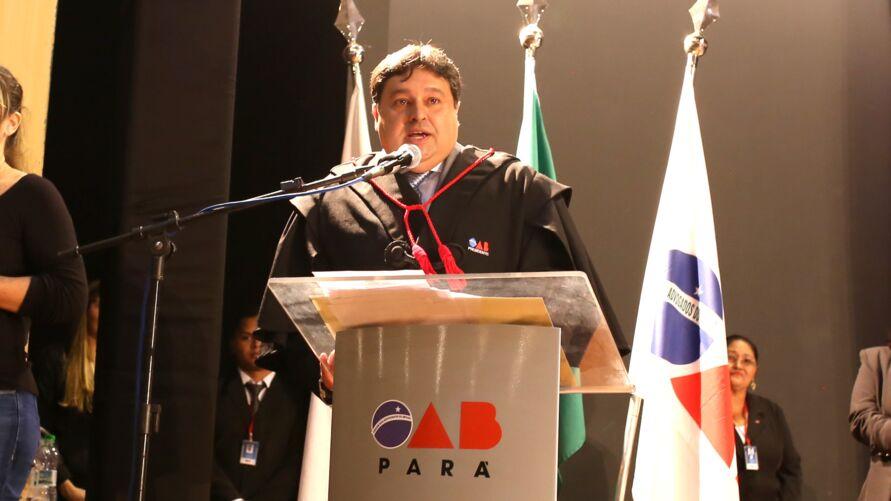 O advogado Alberto Campos, presidente da OAB-PA