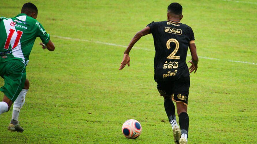 Imagem ilustrativa da notícia: Lateral quer nova história no Castanhal na Copa do Brasil. 'Honrar a camisa'