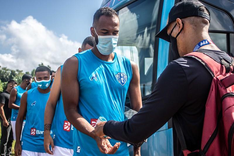Imagem ilustrativa da notícia: Delegação do Paysandu é proibida de treinar em Salinas
