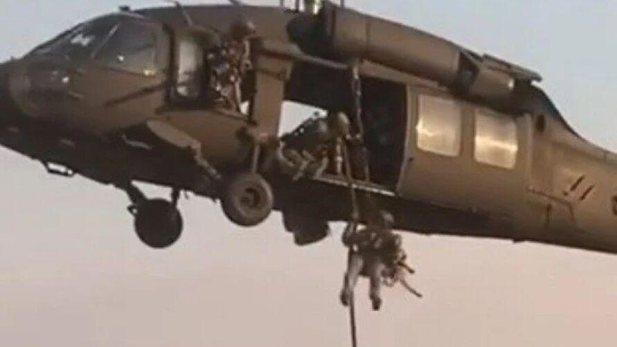 Justin Melnick cai de helicóptero durante gravação de comercial