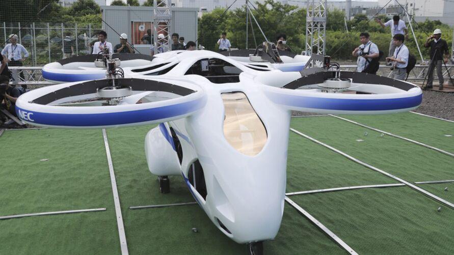 Segundo a startup, o SD-03 atualmente é o menor carro voador do mundo