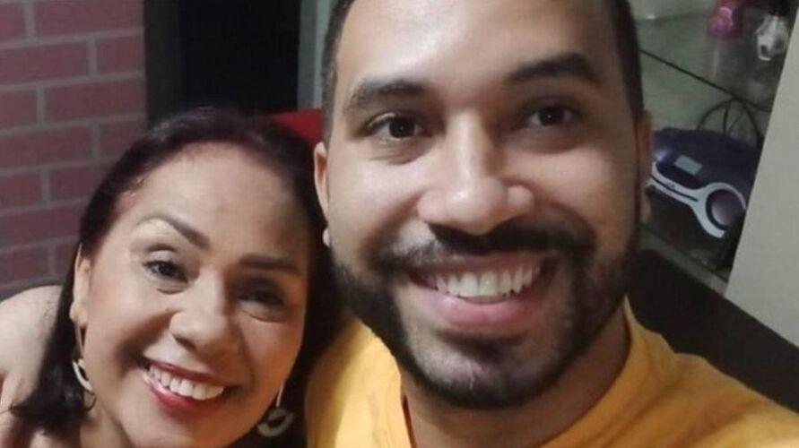 Jacira, mãe de Gilberto
