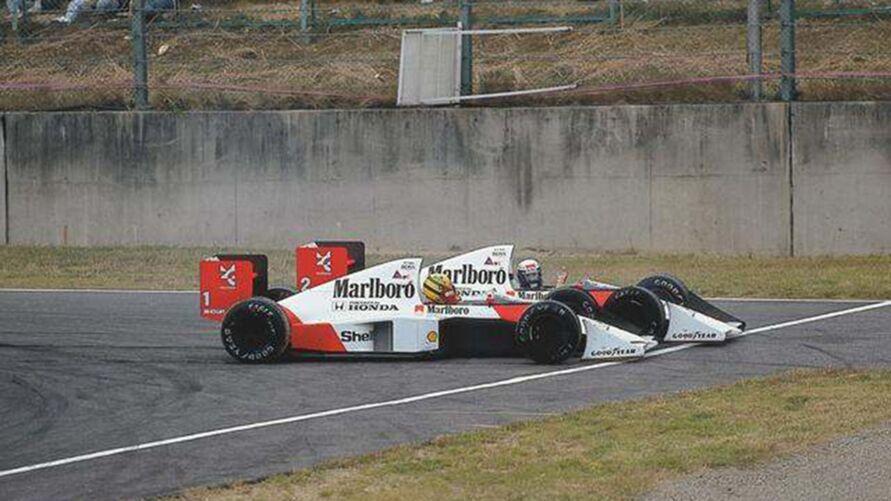 Imagem ilustrativa da notícia: F1 na Band: veja o vídeo da batida entre Prost X Senna