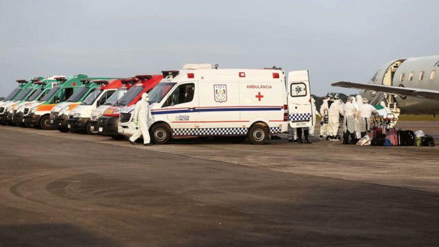 Imagem ilustrativa da notícia: Estado já transferiu 230 pacientes com Covid-19 na região oeste do Pará