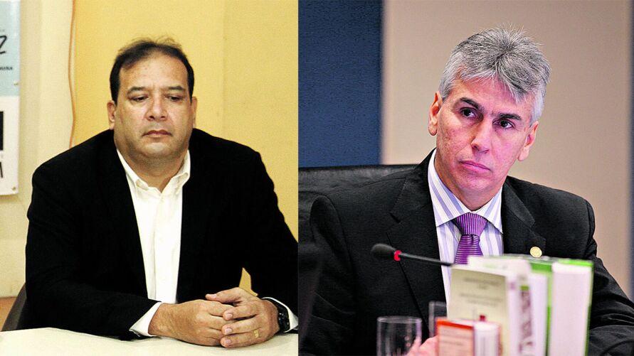 Sérgio Amorim foi secretário de Saúde na gestão Zenaldo Coutinho. Gilberto Valente Martins, cunhado do ex-títular da Sesma