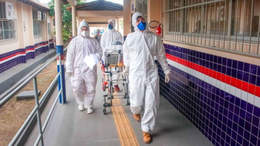 Imagem ilustrativa da notícia: Sespa já transferiu 251 pacientes com Covid-19 na região oeste do Pará