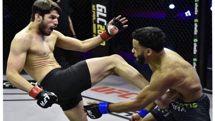 Imagem ilustrativa da notícia: Paraense Bruno Souza vence americano e quer cinturão do LFA