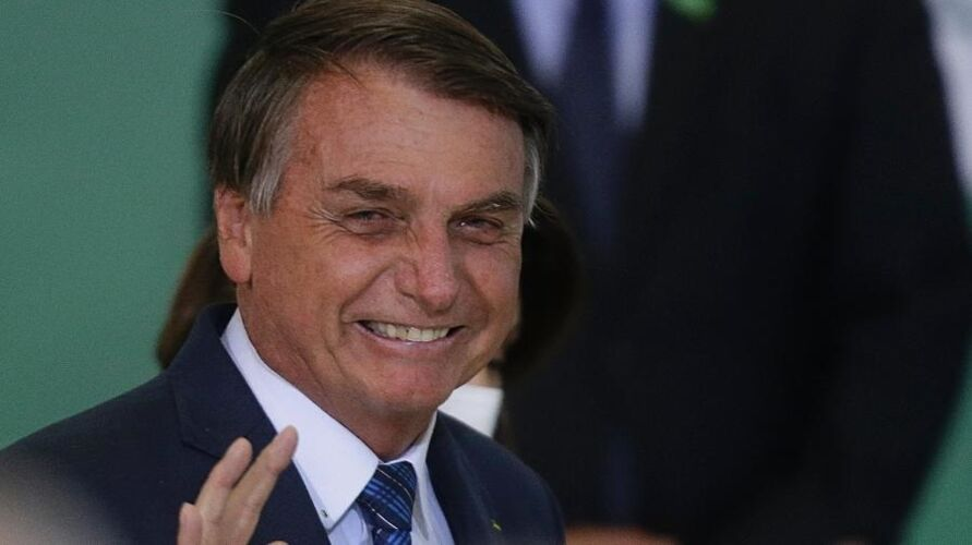 O presidente Jair Bolsonaro fará ato simbólico