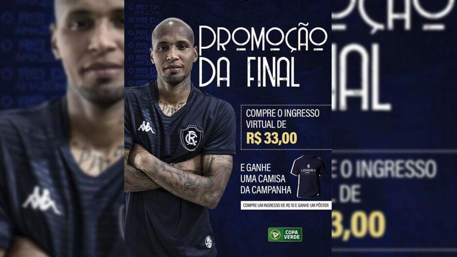 Imagem ilustrativa da notícia: Remo começa a vender ingressos para final da Copa Verde e tira sarro com o rival; saiba o porquê!