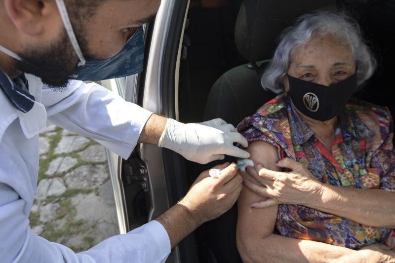 O governo do estado destinará mais 60 mil doses de imunizantes para vacinar os paraenses com essa faixa etária.