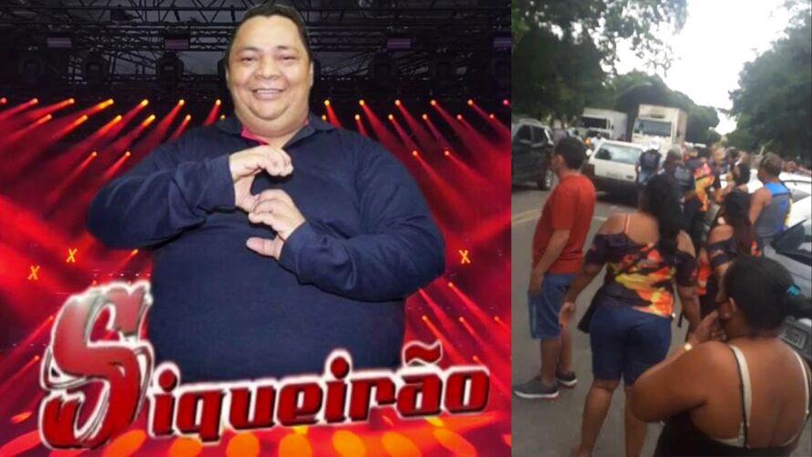 Imagem ilustrativa da notícia: Enterro do DJ Siqueirão tem transmissão de live e 'marcantes' em frente ao cemitério de Belém. Veja o vídeo!