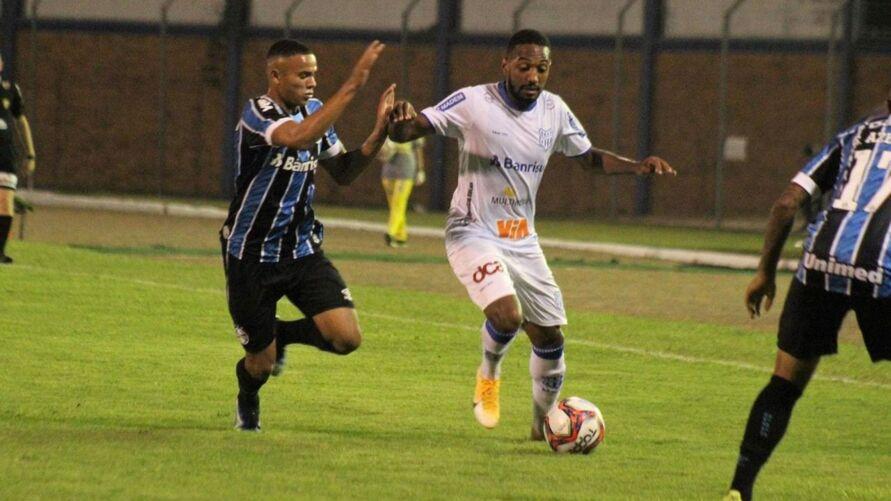 Esportivo perdeu por 2 a 0 para o Grêmio