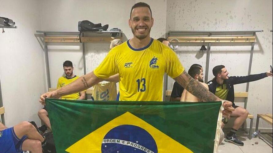 Rogerio é o Pará na Seleção.