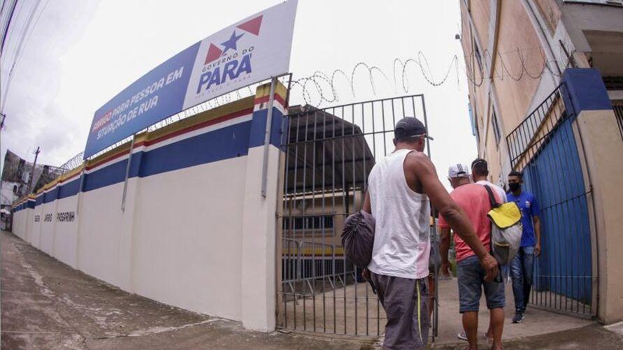 Imagem ilustrativa da notícia: Abrigos emergenciais retiram pessoas de ruas em Belém