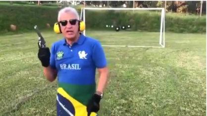 Imagem ilustrativa da notícia: Armado, empresário ameaça Lula com arma de fogo; veja o vídeo