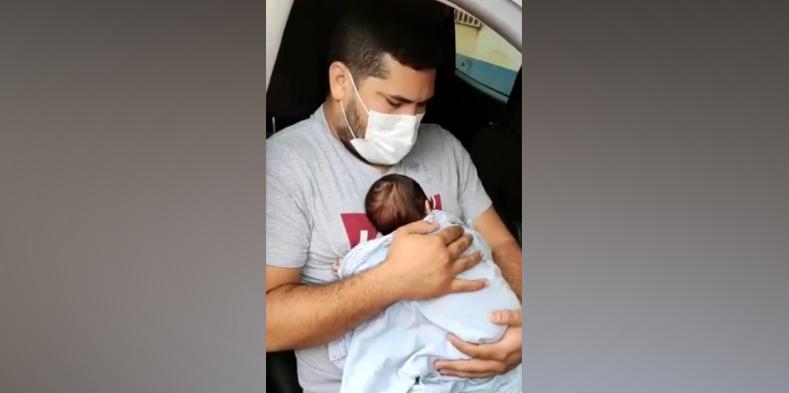 Conselho Tutelar foi acionado para resgatar o bebê