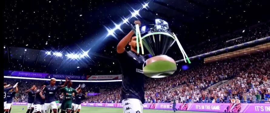 Leão Azul levantou a taça de campeão da Copa do Brasil