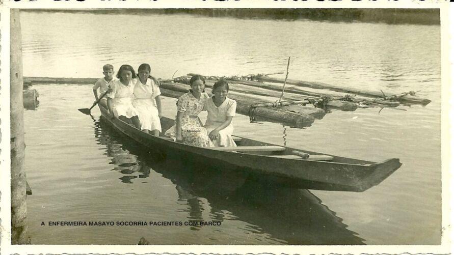 Primeiros imigrantes chegavam a Tomá-Açu de barco.