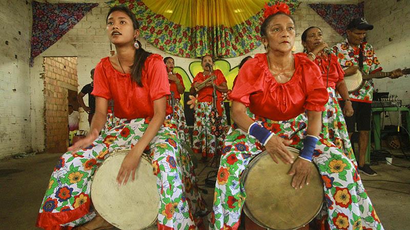 """Imagem ilustrativa da notícia: Grupo de carimbó """"Sereia do Mar"""" realiza festival online"""