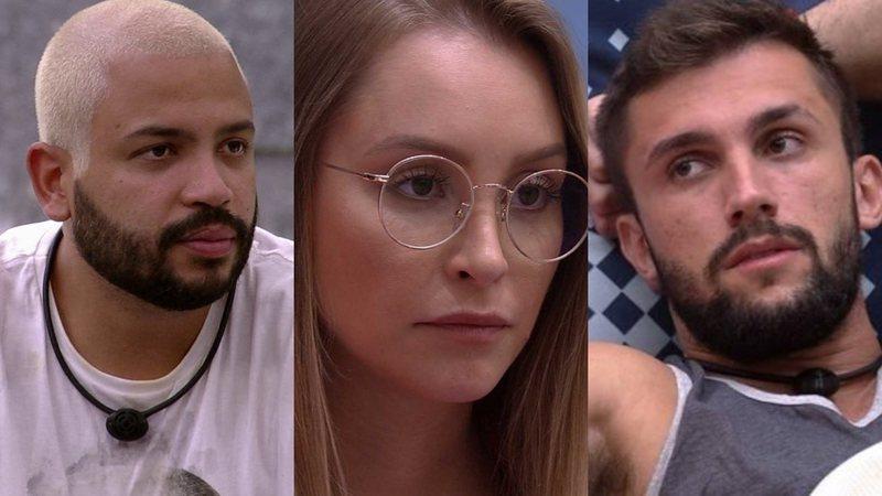Imagem ilustrativa da notícia: Arthur dá bola fora e Carla pergunta se ele prefere dormir de 'conchinha' com Projota