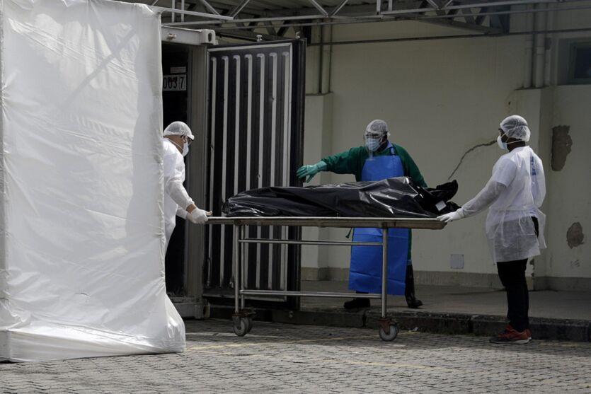 Imagem ilustrativa da notícia: Brasil tem a maior média de mortes por Covid-19 no mundo