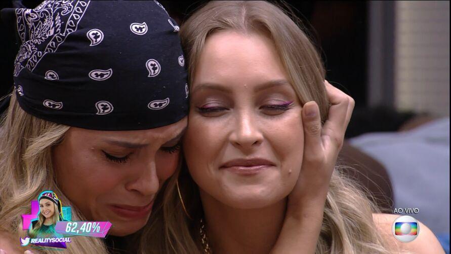 Imagem ilustrativa da notícia: Carla Diaz é a 'eliminada' em paredão falso do BBB21