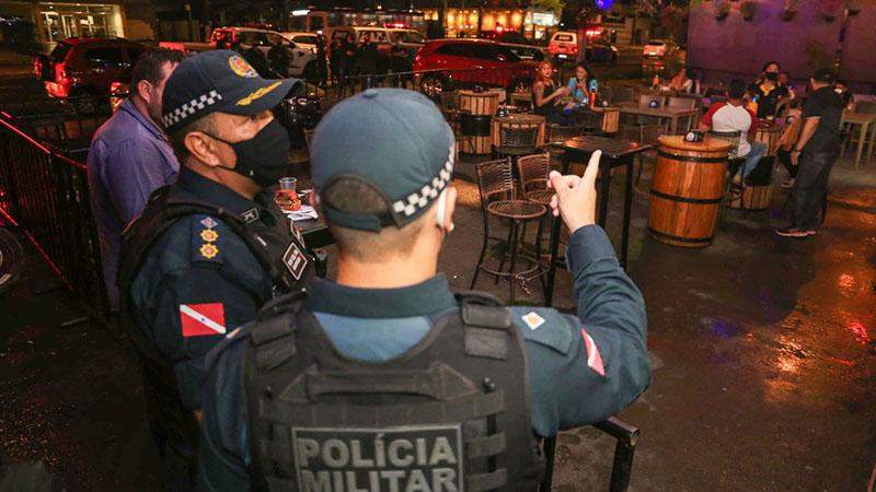 Imagem ilustrativa da notícia: Forças de segurança estarão nas ruas fiscalizando o cumprimento das novas medidas de combate à Covid-19 no Pará