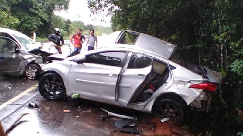 Imagem ilustrativa da notícia: Policial morre em grave acidente próximo a Peixe-Boi