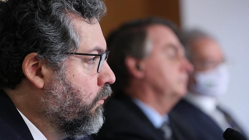 Ernesto Araújo pediu demissão do cargo de ministro das Relações Exteriores