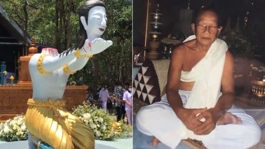 O caso ocorreu nos últimos dias, na Tailândia.