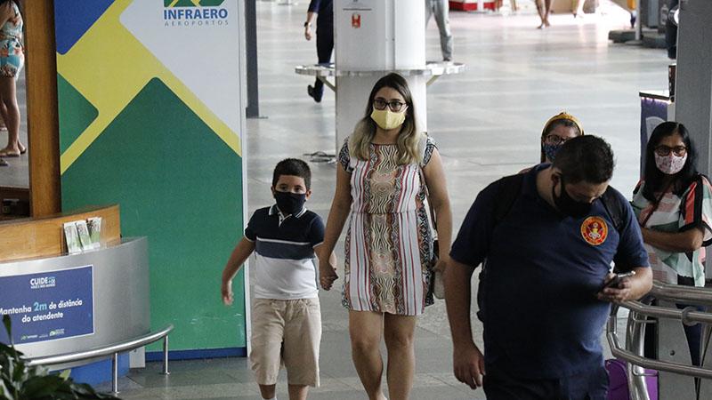 Aeroporto de Belém: medidas seriam a que estão em vigor na capital