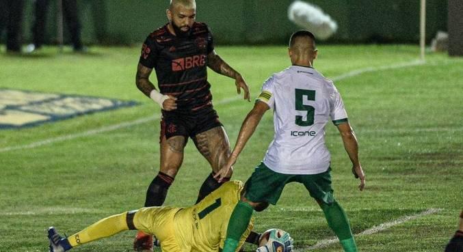 Imagem ilustrativa da notícia: Gabigol volta e Flamengo fica só no empate com o Boavista
