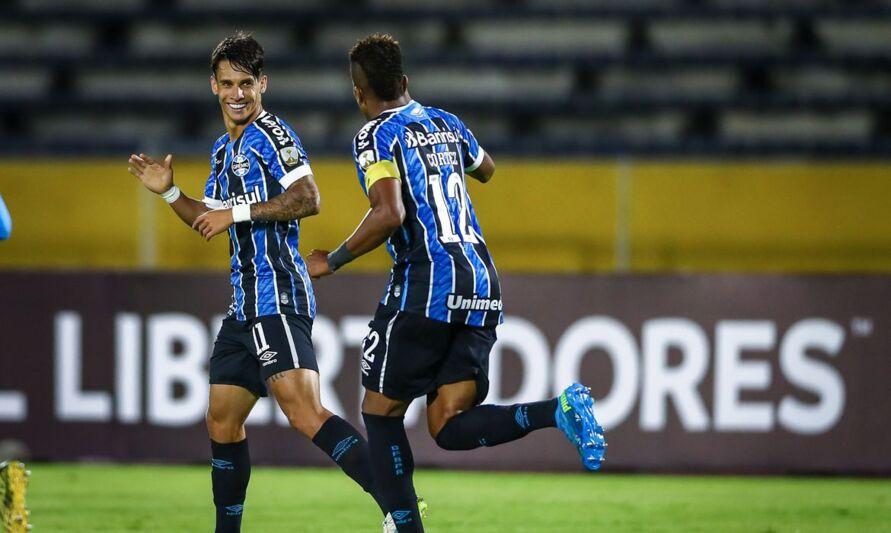 Imagem ilustrativa da notícia: Grêmio vence e vai enfrentar Independiente del Valle na Libertadores