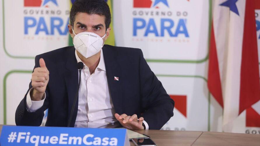 O governador do Pará, Helder Barbalho (foto), fará anúncio neste sábado (27) sobre a a atualização das medidas restritivas