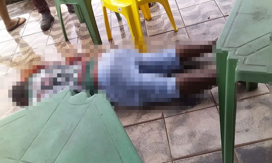 Gilberto morreu dentro do restaurante