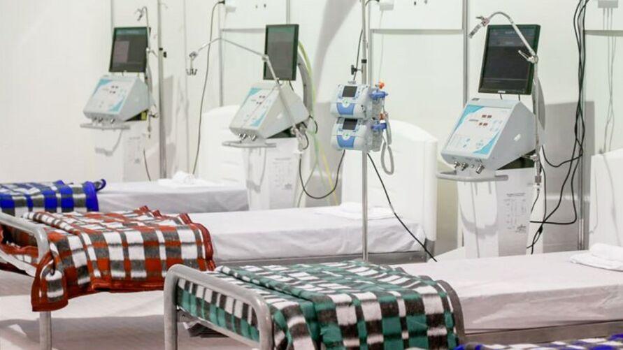 O Hospital Público Estadual Galileu (HPEG), localizado em Belém, abriu 60 novos leitos para voltar a atender pacientes com covid-19.