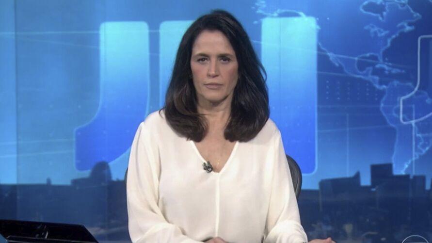 """Imagem ilustrativa da notícia: Jornalista da Globo emociona ao anunciar morte de marido: """"vou te amar sempre"""""""