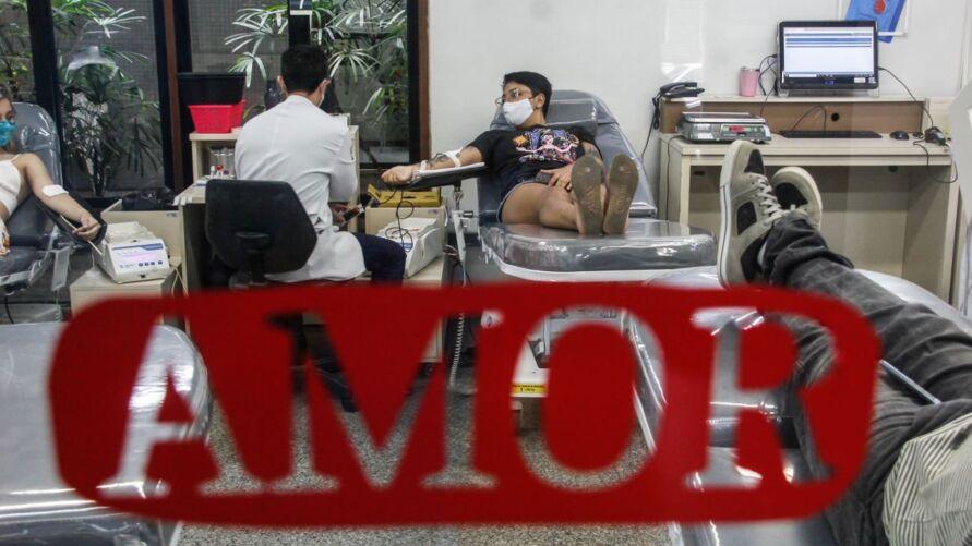 Campanha quer reforçar estoque de sangue em quatro cidades paraenses.